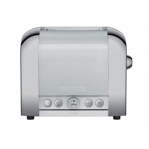 Toaster Chrome mat - 2 tranches